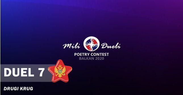 mili dueli online balkan poetry contest - results - montenegro
