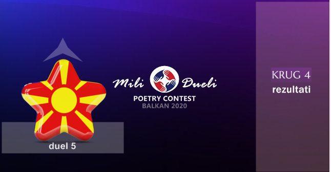 Mili Dueli - Sjeverna Makedonija - Rezultati - Polufinale